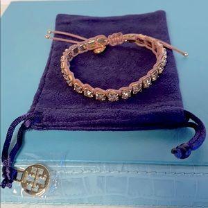 Tory Burch Rose Gold Crystal Bracelet